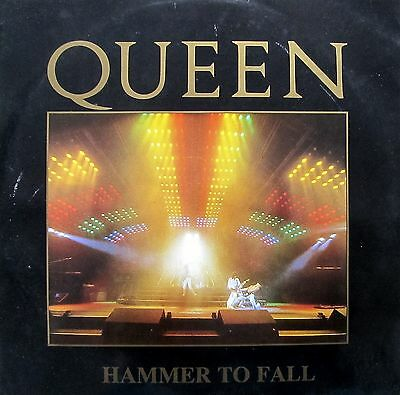 """Queen - Hammer To Fall / Withdrawn sleeve (12"""" vinyl, Ex.Cond, 1984, 12 Queen 4)"""