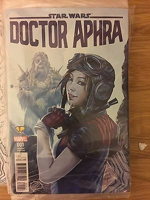DOCTOR APHRA # 1 Brain Trust COLOUR VARIENT Ashley Witter Star Wars SEALED NM