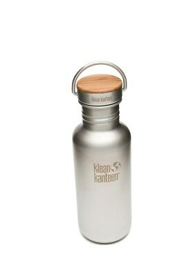 Klean Kanteen -  Classic 532ml Reflect Stainless/Bamboo- Water Bottle