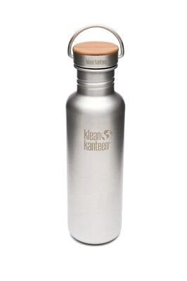 Klean Kanteen - Classic 800ml/27oz Reflect Stainless/Bamboo- Water Bottle