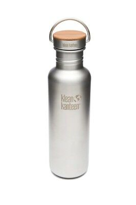 Klean Kanteen - Classic 800ml Reflect Stainless/Bamboo- Water Bottle