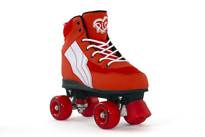 Rio Roller - Pure Childrens Skate - Red/White- Junior Quad Roller Skates