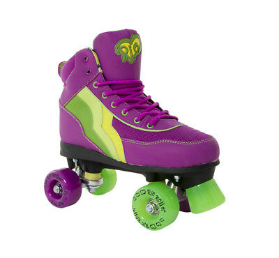 Rio Roller - Classic II Adults Skate - Grape- Adult Quad Roller Skates
