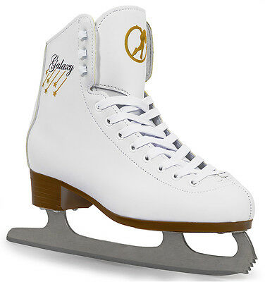 SFR - Galaxy Ice Skate - White- Adults Figure Ice Skates