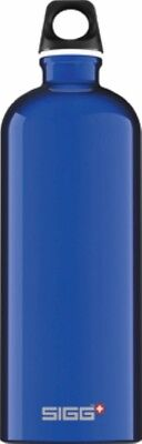 Sigg - Traveller Dark Blue - 1.0L- Aluminum Water Bottle