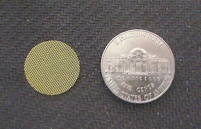 """10 High Quality Brass Tobacco Pipe Screen Filters 5/8"""" .625"""" Shipping Disc Avail"""