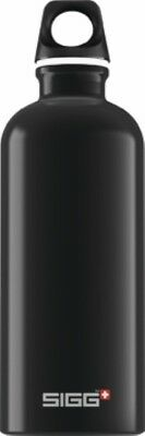 Sigg - Traveller Black - 0.6L- Aluminum Water Bottle