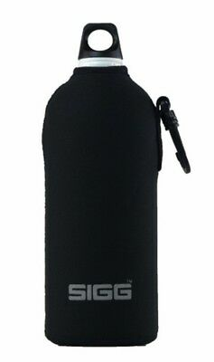 Sigg - Neoprene Pouch Black - 1.0L- Sigg Bottle Accessories