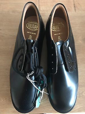 Solovair Black Shoes Size 9, Brand New In Box