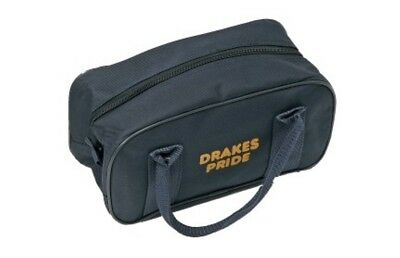 Drakes Pride - Two Bowl Zip Bag - Navy- Bowls Carry Bag
