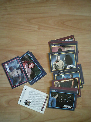 Collection Of Star Trek Trading Cards 1991