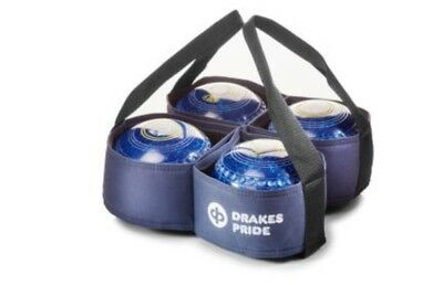 Drakes Pride - Four Bowl Carrier - Navy- Bowls Carry Bag