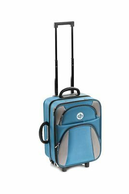 Drakes Pride - Trolley Bag - Petrol Blue- Bowls Trolley Bag Set