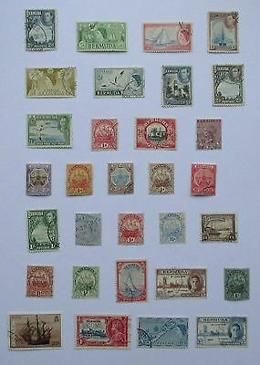 Bermuda. Miscellaneous selection of very fine used stamps.