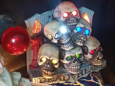 Scared Stiff Pinball Mod - SKULL PILE - Flickering Candles