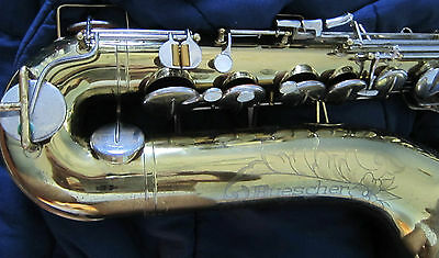 Buescher 400 tenor. Orig. lacquer and beautiful