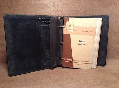Vintage 1968 DeVry Institute of Technology Handbook on Energy and Electricity