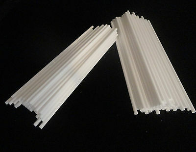 "6.875"" LONG HIGH PURITY SINGLE BORE ALUMINA CERAMIC TUBE REFRACTORY No.: 156"