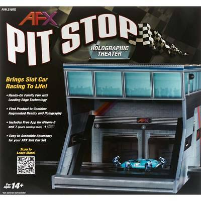 NEW AFX Pit Stop Holographic Theater 21070