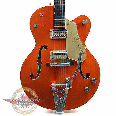 Rare Vintage 1960 Gretsch Chet Atkins 6120 Hollow Body Electric Guitar