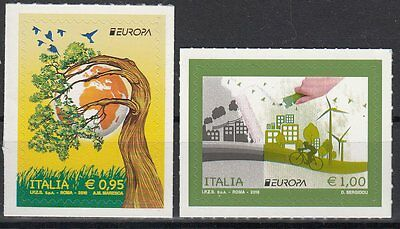 ITALY.2016 EUROPA CEPT.THINK GREEN.Set of 2 stamp MNH