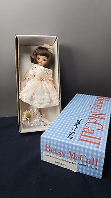 """Tonner Tiny Betsy Mccall 50Th Anniversary 8"""" Collector Doll"""