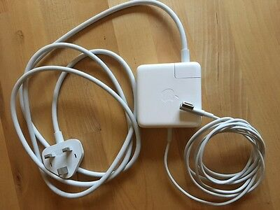 Genuine Apple 60w MacBook Magsafe Charger Power Adapter UK Plug
