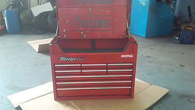 Snap On Kra63B 9 Drawer Top Box Racing Type.