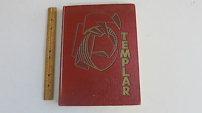 Temple University 1955 Senior Class Yearbook Philadelphia Pa