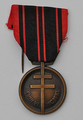 France: Ww2 French Resistance Medal