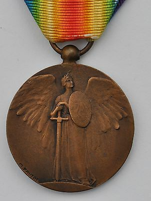 "France:  French Ww1 Victory Medal Scarce ""pautot-Mattei"" Type"