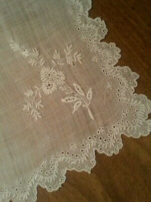 Antique Aryshire Lace Remnant Projects Dolls Vintage Repair Crafters