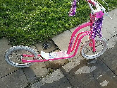 pink large scooter