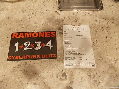 Two Ramones 1-2-3-4- Post Cards