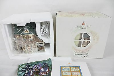 New Department 56 Seasons Bay Side Porch Cafe Beach House Decoration 1st Edition