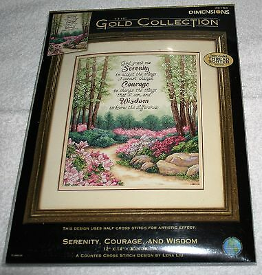 DIMENSIONS GOLD COLLECTION~Serenity, Courage, and Wisdom