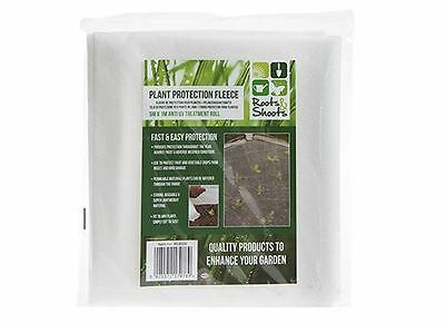 Garden Shrub Plant Frost Protection Fleece 5m x 1m Anti Frost Winter Protector