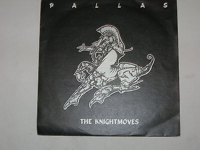 """Pallas - The Knightmoves - Strangers - 7"""" single in picture sleeve"""