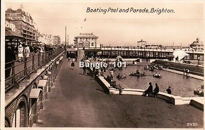 [52329] Brighton Sussex RP early postcard c.1930