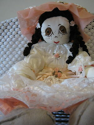 Hand made Rag doll 17 inches
