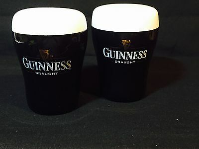 Guinness Collectable - Salt and Pepper - No Damage - Complete with Stoppers