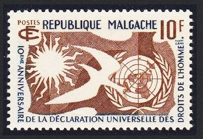 Malagasy Rep. 10th Anniversary of Declaration of Human Rights 1v SG#1