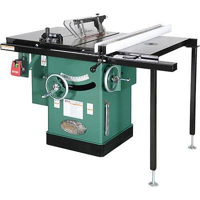 "G1023RLWX Grizzly 10"" 5 HP 240V Cabinet Left-Tilting Table Saw"