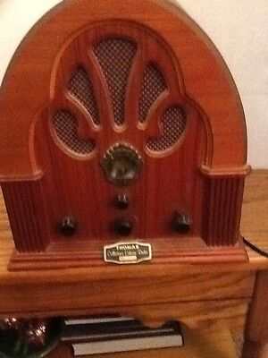 Thomas Collector's Edition AM/FM Radio Model BD 109 It Works