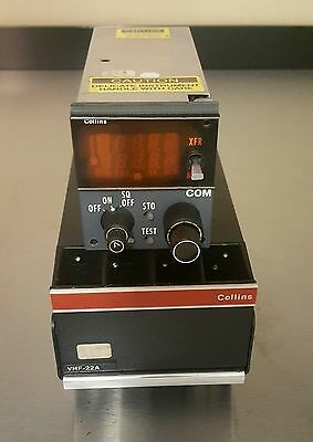 2 each Collins VHF-22A and 1each CTL-22 package.
