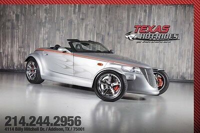 2000 Plymouth Prowler Base Convertible 2-Door 2000 Plymouth Prowler Roadster Low Miles! Convertible top, EXTRA CLEAN! Chrysler