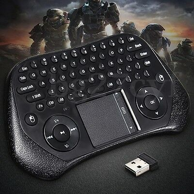 Mini 2.4GHz Wireless Remote Air Mouse Keyboard Touch for Android TV Box KODI PC