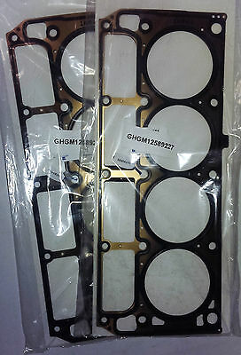 Holden Commodore HSV Chevrolet LS2 L98 MLS Head Gaskets Pair 6.0 V8 Genuine GM