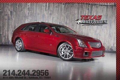 2012 Cadillac CTS V Wagon 4-Door 2012 Cadillac CTS-V Wagon Rare! All black interior! Low miles! MUST SEE!