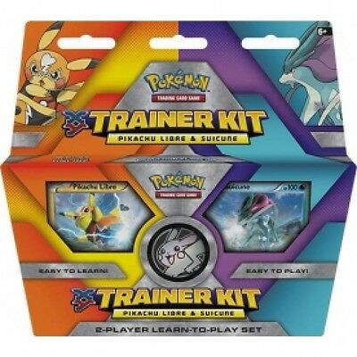 Pokemon Trainer Kit: Pikachu Libre and Suicune Brand New
